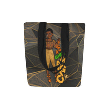 Load image into Gallery viewer, Black Girl Magic Gold  -  Custom Afrocentric Tote Bag