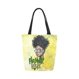 Planner Babe - Custom Afrocentric Tote Bag