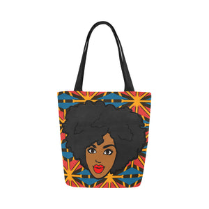Candy Love  -  Custom Afrocentric Tote Bag