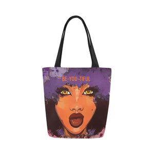Be-YOU-Tiful  -  Custom Afrocentric Tote Bag