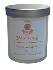 Divine Beauty - Soy Candle | Scented Candles | Scented Soy Candle