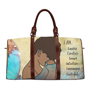 I AM  - Custom Afrocentric Travel Bag