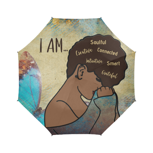 I AM... Custom Afrocentric Umbrella
