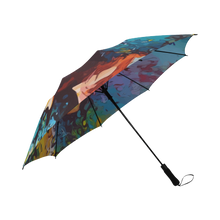Load image into Gallery viewer, Just Flow - Custom Afrocentric Umbrella