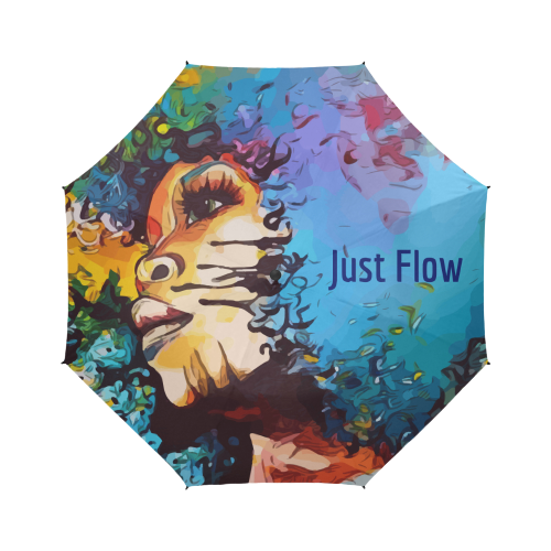 Just Flow - Custom Afrocentric Umbrella