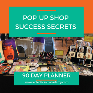 PopUp Shop Success Secrets - 90 Day Planner (Physical Book)