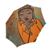 Load image into Gallery viewer, Prosperous Abundant Life - Custom Afrocentric Umbrella