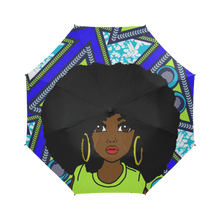 Load image into Gallery viewer, Royal African Queen - Custom Afrocentric Umbrella