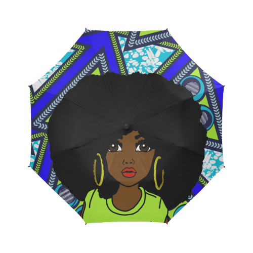 Royal African Queen - Custom Afrocentric Umbrella