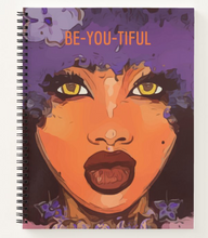 Load image into Gallery viewer, Be-YOU-Tiful - Custom Afrocentric Notebook
