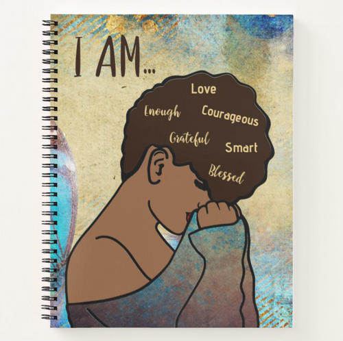 I AM - Custom Afrocentric Notebook