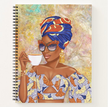 Load image into Gallery viewer, Summer Tea - Rust - Afrocentric Notebook