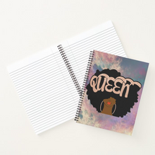 Load image into Gallery viewer, Rose Gold Queen - Custom Afrocentric Notebook