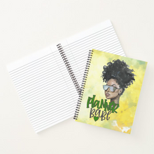 Load image into Gallery viewer, Planner Babe Idea - Custom Afrocentric Notebook