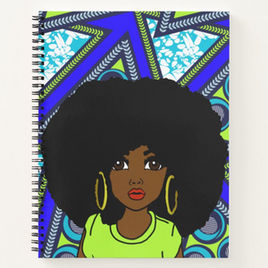 Royal African Queen - Notebook