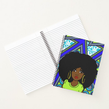 Load image into Gallery viewer, Royal African Queen - Notebook