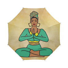 Load image into Gallery viewer, Yogi Yamisha - Custom Afrocentric Umbrella