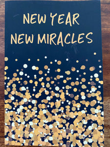 New Year New Miracles Blank Lined Journal