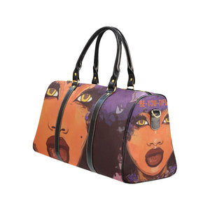 Be-YOU-Tiful  -   Custom Afrocentric Travel Bag