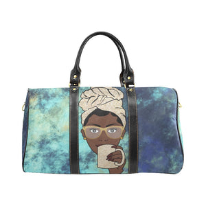 Morning Coffee Tea -  Custom Afrocentric Travel Bag