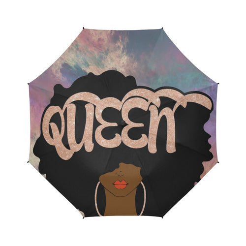 Rose Gold Queen - Custom Umbrella