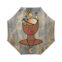 Load image into Gallery viewer, Universal Mind - Custom Afrocentric Umbrella