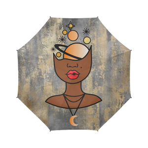 Universal Mind - Custom Afrocentric Umbrella