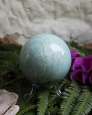 Amazonite Crystal Ball