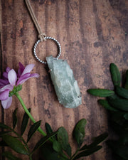 Aquamarine Sterling Silver Necklace