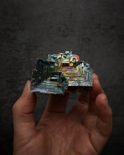 Rainbow Bismuth Raw Crystal