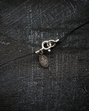 Chocolate Moonstone Vegan Silk Necklace