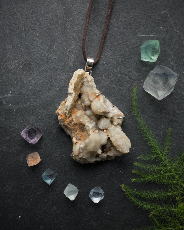 Spirit Quartz Sterling Silver Necklace