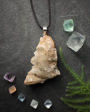Smoky Quartz Sterling Silver Necklace