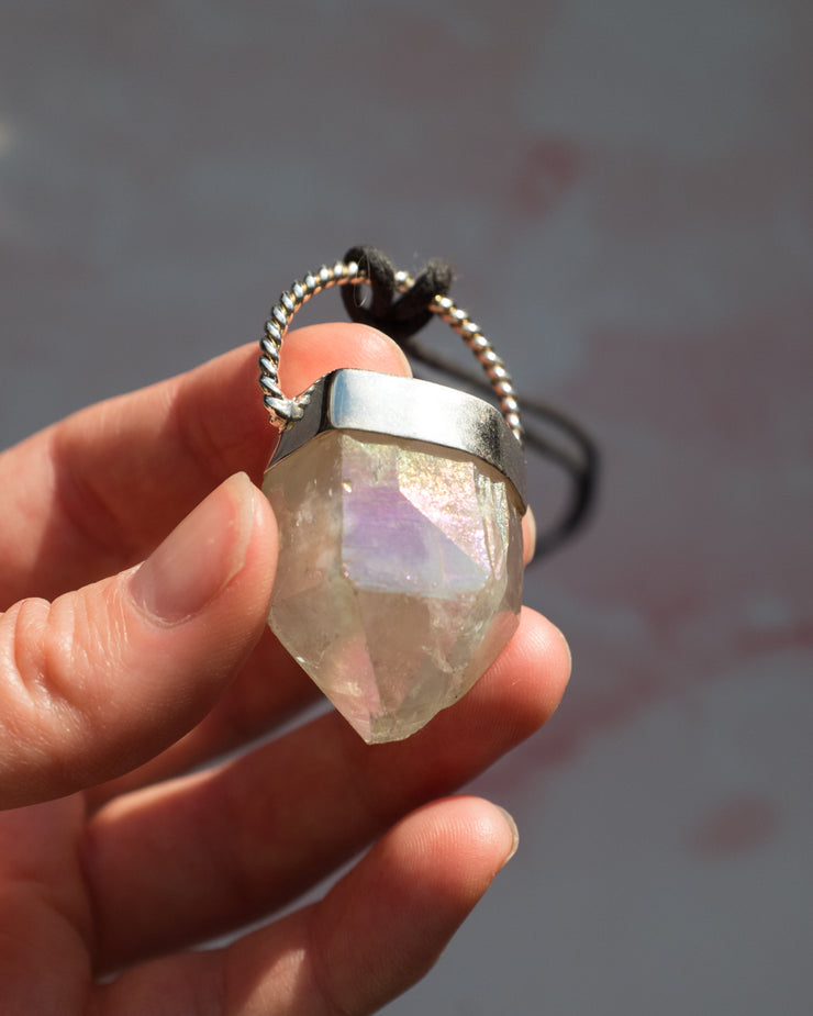 Angel Aura Sterling Silver Necklace