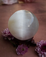 Selenite Crystal Ball