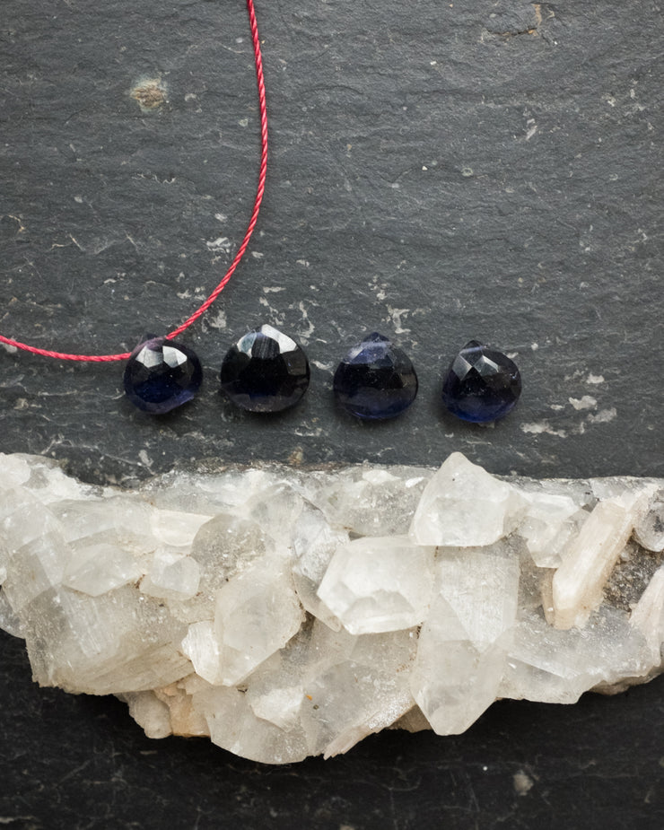 Iolite Vegan Silk Necklace