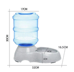 Pet water dispenser 3.4L