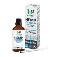 Hemp-Hoki-MCT oil blend for Dogs