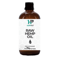 Raw Hempseed Oil for Horses 500ml