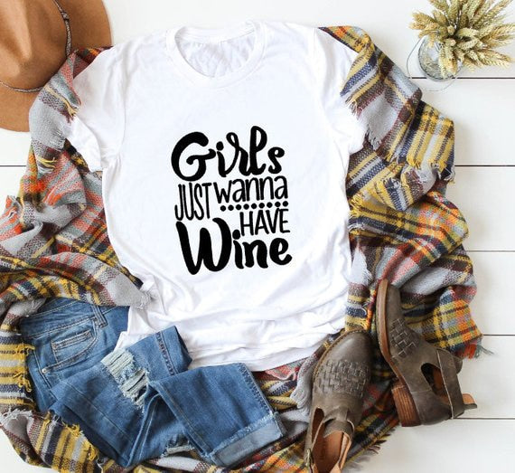Girls Just Want to Drink Wine