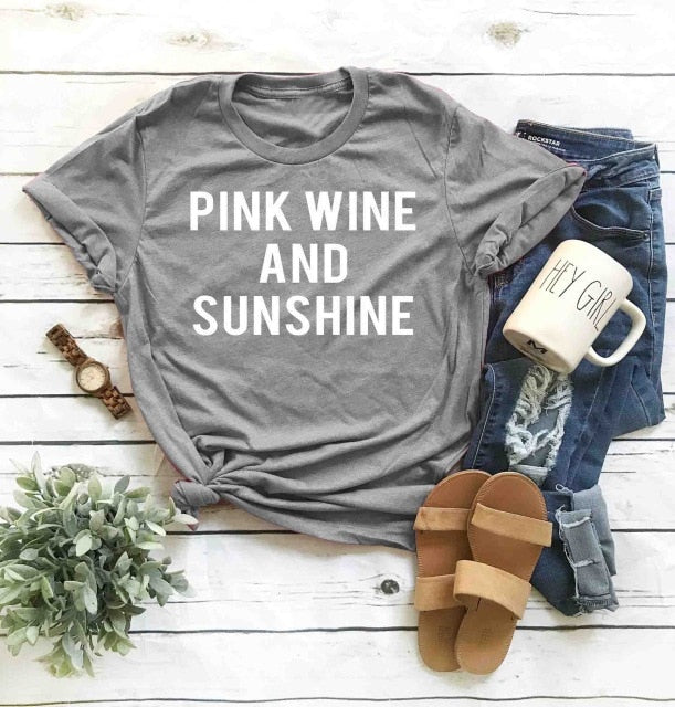 Pink Wine and Sunshine
