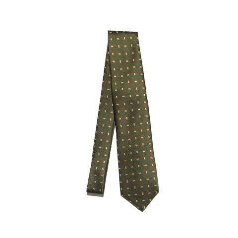 Freemans Necktie- Green