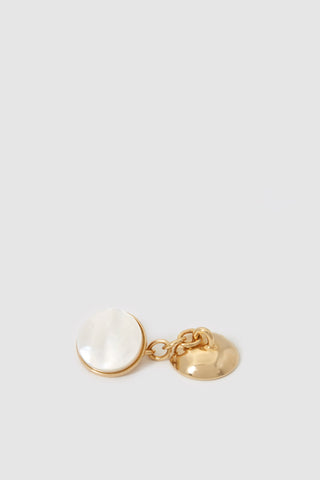 Codis Maya X FSC- Gold Mother of Pearl Cufflinks