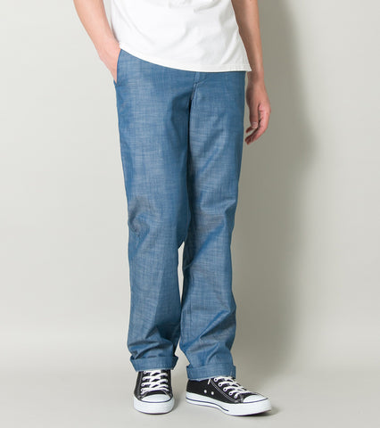 Emmett Easy Pant - Blue Chambray