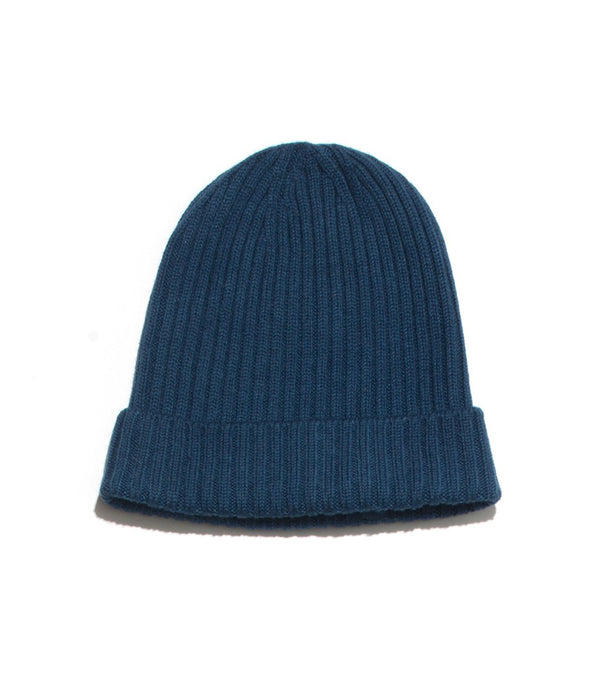 Merino Watch Cap - Indigo