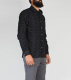 Casual Shirt - Black Coupe