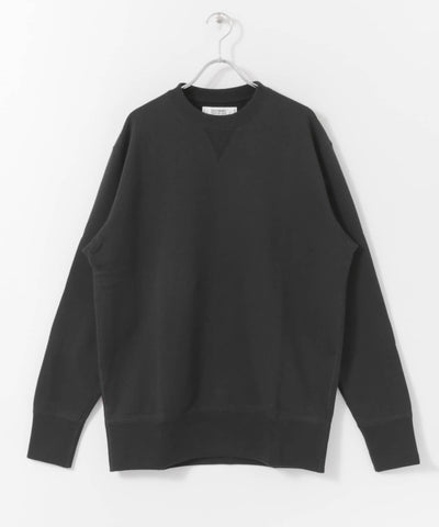 FREEMANS x LOOPWHEELER - BLACK CREWNECK