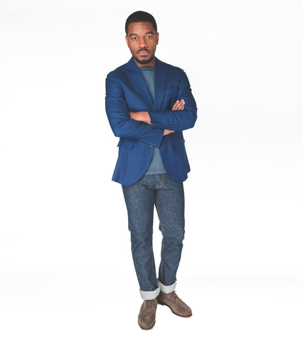 Lightweight Stretch Cashmere Sportcoat