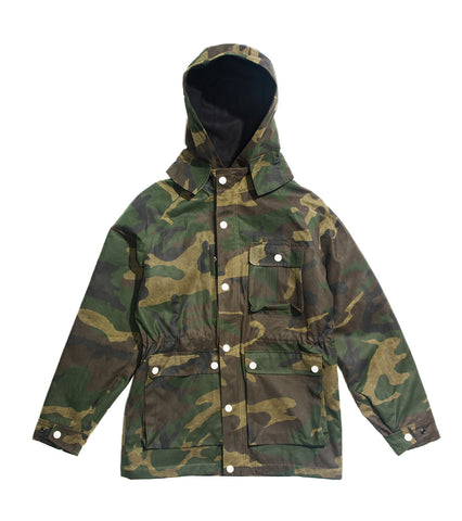 MIL-SPEC Isle of Man Parka - LTD. EDITION Woodland Camo