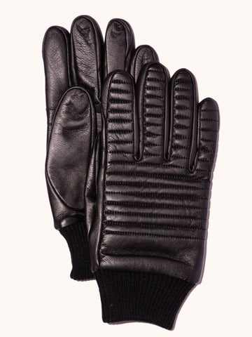 EVOLG Chariot Leather Gloves - Black